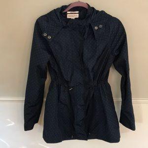 Merona polka dot Rain Coat